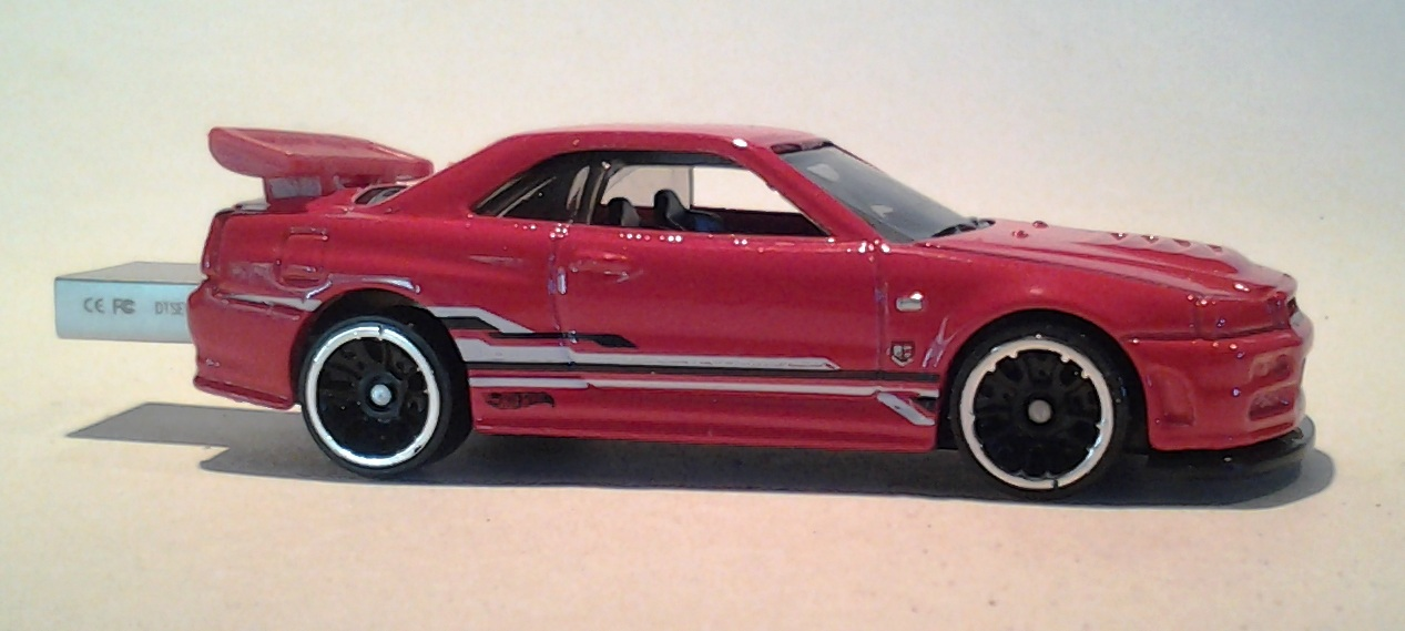 __ Nissan Skyline GT-R R34 Hot Wheels Diecast AutoDrive ...