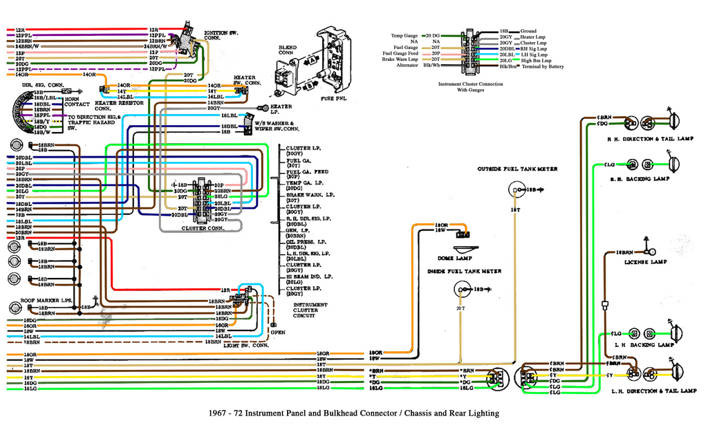 chevrolet headlight switch wiring diagram